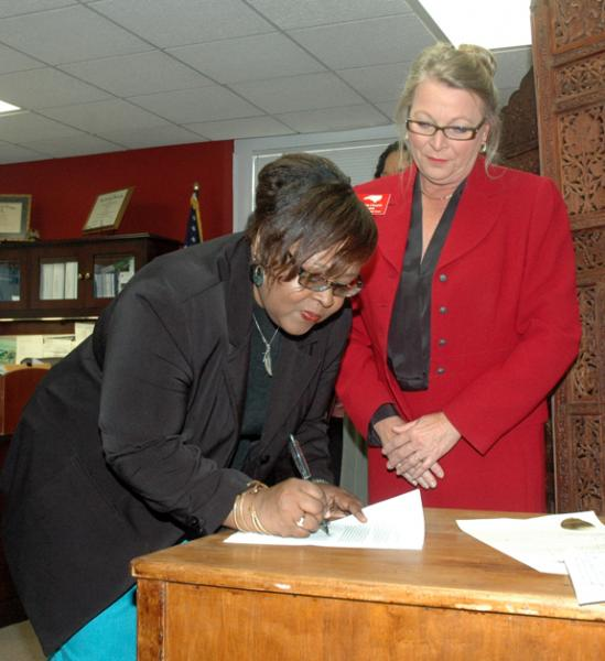 <i>An historic first for clerk's office</i>