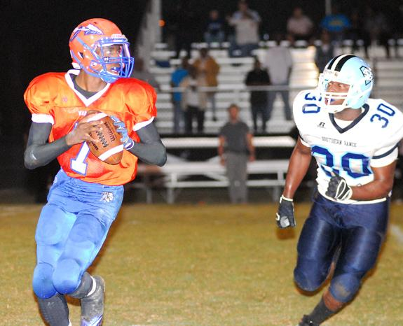 Warriors Hold Off So. Vance