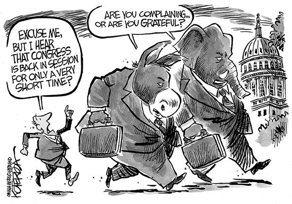 Editorial Cartoon: Congress