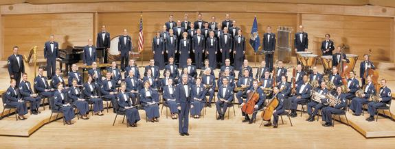 <i>Air Force band will visit college</i>