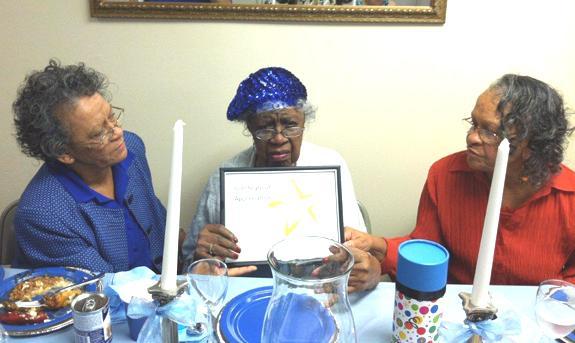 <i>Her 100th birthday!</i>