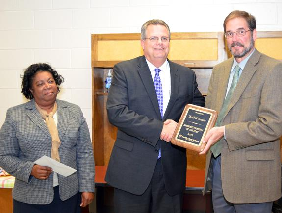<i>Assistant Principal of Year honors go to FHS's Averette</i>