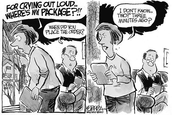 Editorial Cartoon: Order