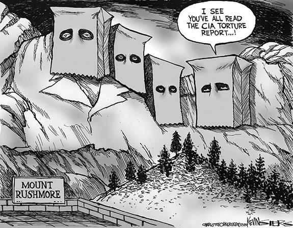 Editorial Cartoon: Rushmore