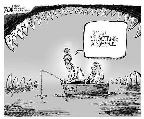 Editorial Cartoon: Iran
