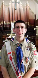 <i>Louisburg student earns Eagle rank</i>