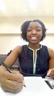 Student gets a first-hand look at state government