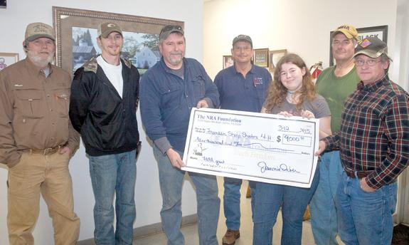 Sharpshooters receive grant