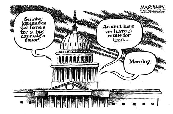 Editorial Cartoon: Favorites