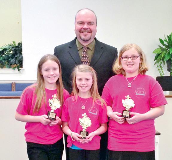 <i>Bible Drill team winners named</i>