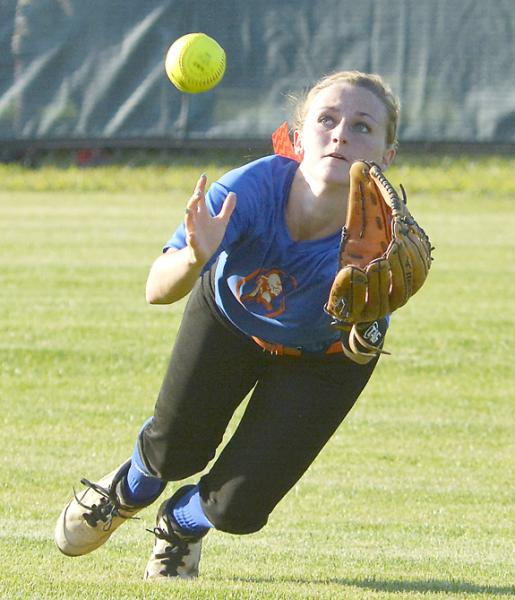 Louisburg falls in softball playoffs