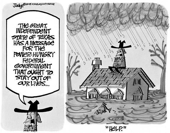 Editorial Cartoon: Texas