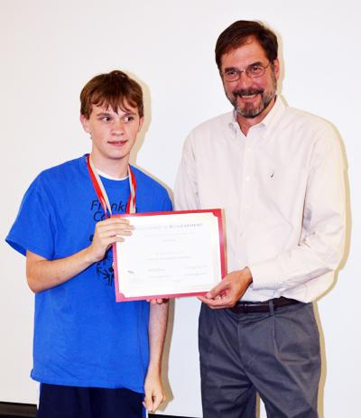 <i>Franklin County's Special Olympians honored</i>