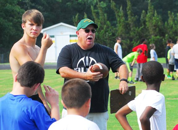 BHS hosts football camp