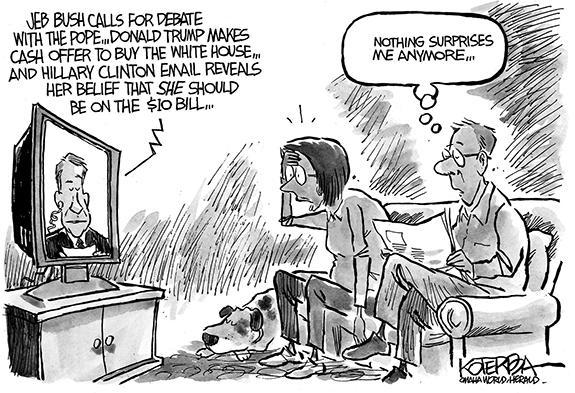 Editorial Cartoon: Election Surprise