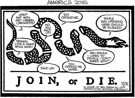 Editorial Cartoon: Ben Franklin