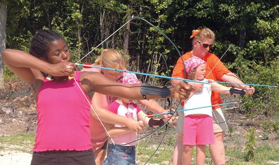 <i>Reaching potentials: Girls Scout camp</i>