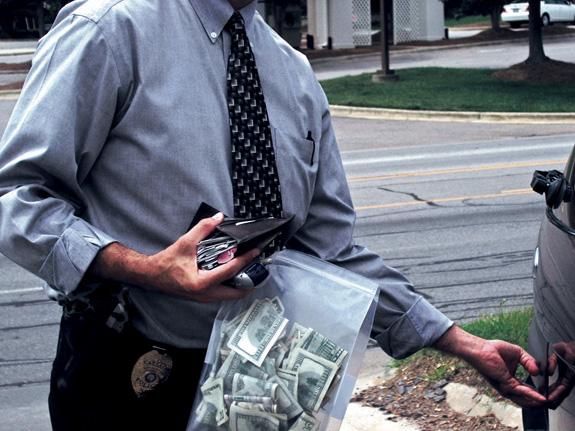 DRUG DOLLARS OR RENT MONEY?
