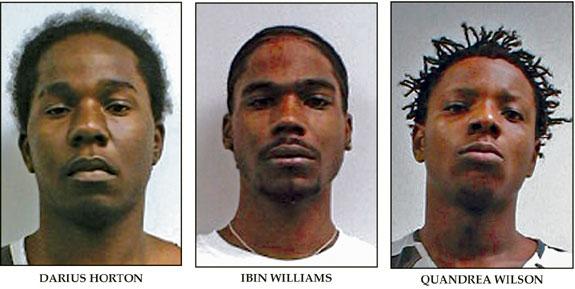 Three arrested in Mann murder