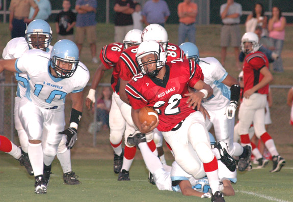 South Granville Slides Past Red Rams