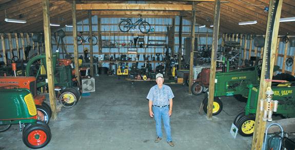 Meet  Mr. Tractor