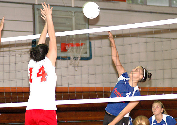 LHS Serves Way Past Red Rams