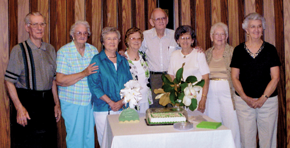 Edward Best High School  reunion: Class of '48