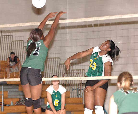 Bunn Sweeps Northern