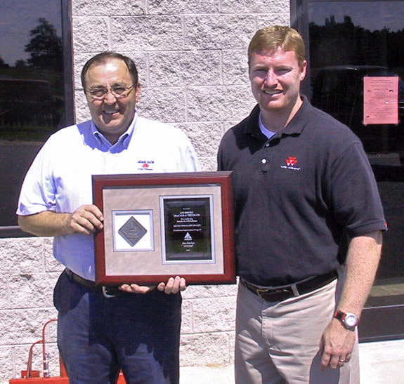 Louisburg Tractor recognized