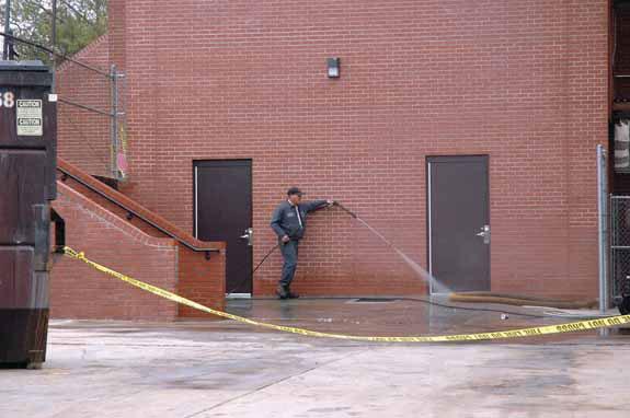 Fuel spills at FHS