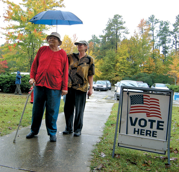 History, future on minds of county voters