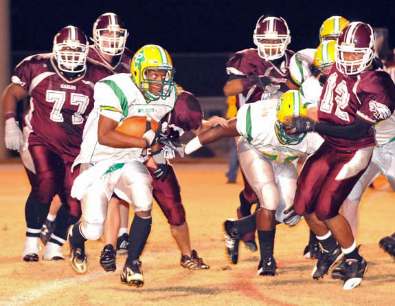 Bunn Pounces On Warren County