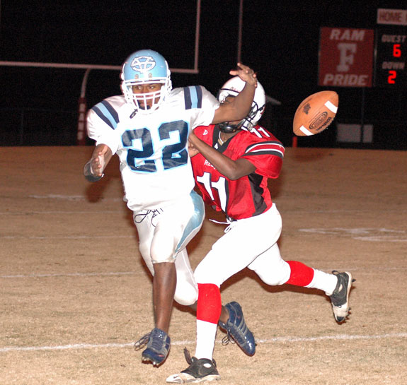 Red Rams Wrap Up Southern Vance