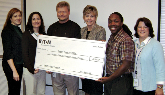 Eaton Corp. takes the cake in supporting United Way