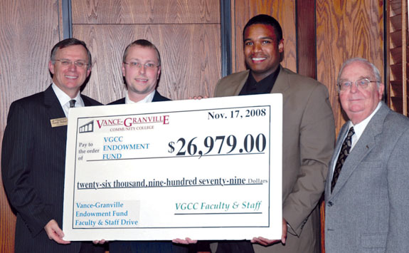 VGCC faculty raises scholarship funds