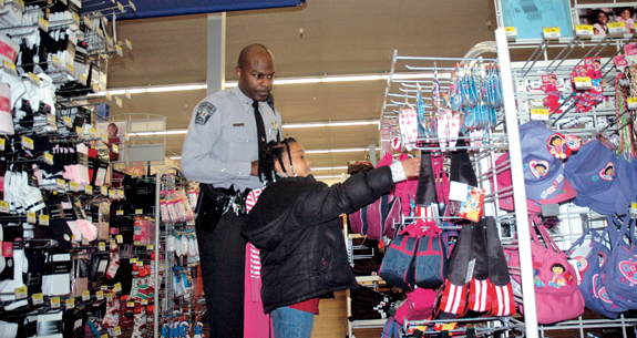 Deputies share time with children in Shop-With-A-Cop
