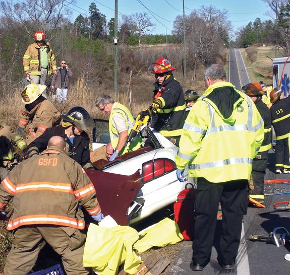 401 head-on collision