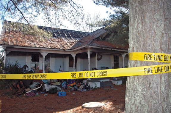 Two escape house fire days before Christmas