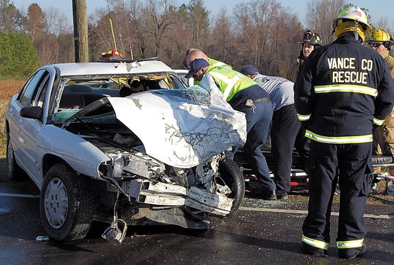 Louisburg woman dies in head-on collision