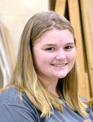 <i>Bunn High student is working her way to success</i>