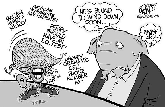 Editorial Cartoon: Donald
