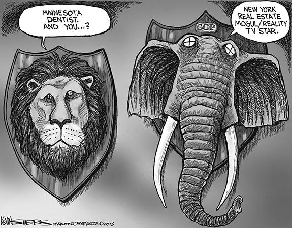 Editorial Cartoon: GOP Trophy