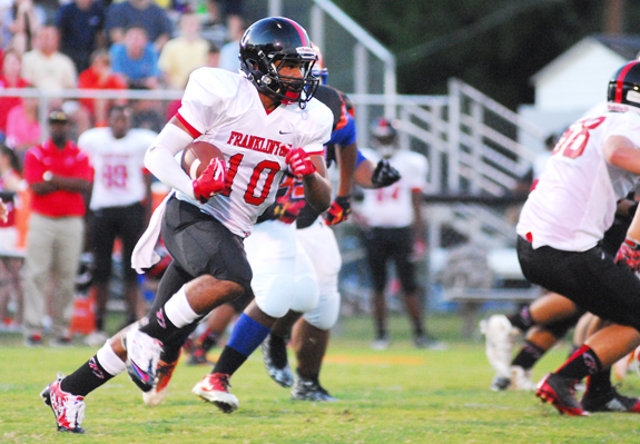 Red Rams Run Past Louisburg