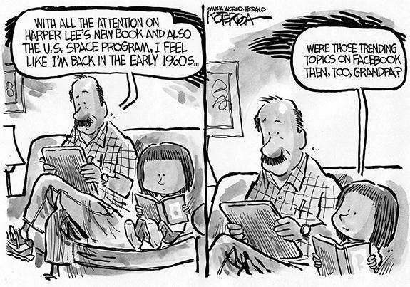 Editorial Cartoon: Trending