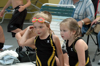 Swim-meet results difficult to figure out
