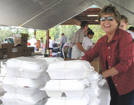Annual Cattlemen�s Beef Roast was smokin�