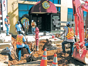 Baxter�s gets a new water line, to open soon