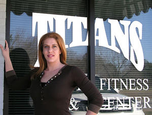 Titans� Choate blossoms as figure competitor