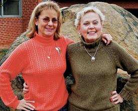 Sandling, Davis share more than friendship