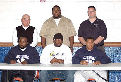 LC gridiron players choose four-year programs